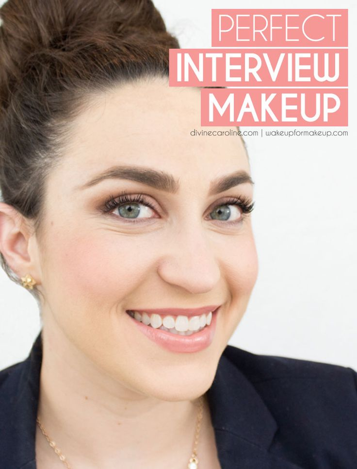 Wear the right interview makeup to score the job. #divinecaroline #work #makeup