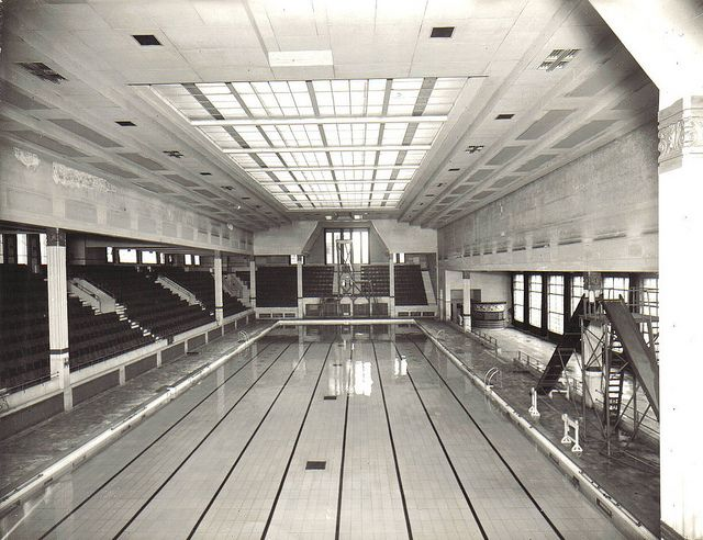 Derby baths blackpool thought to be post second world for Bathroom design blackpool