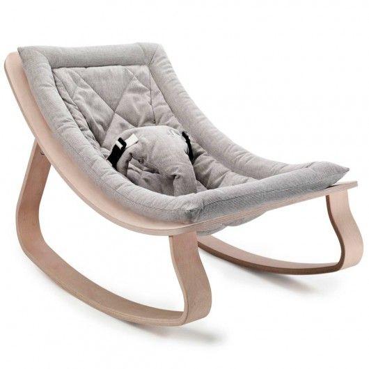 Transat bébé LEVO - Sweet grey