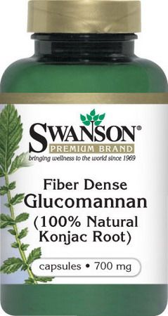 Fiber Dense Glucomannan 100% Natural Konjac Root