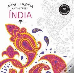 Mini Colorir Índia' #livros #criatividade #leiturascriativas