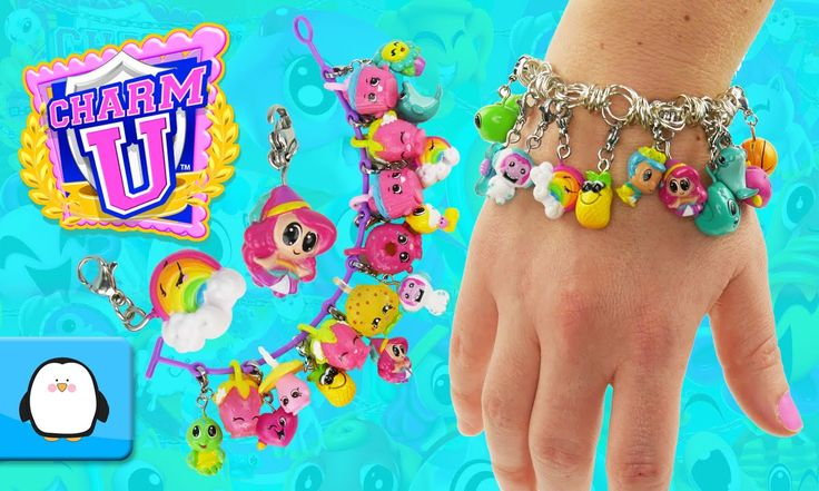 Charm U Charms and Bracelets Opening Blind Bag Backpacks Collection with Shopkins by Sparkle Spice.  Subscribe here to never miss a video: https://www.youtube.com/channel/UCsRW8ikkc-uISUXtNKBfFcw?sub_confirmation=1  - Watch my last video: https://www.youtube.com/watch?v=gKOf9WSfk5c  Charm U is an amazing new collectible minifigure that is wearable on anything you can clip them on! You can clip them onto bracelets necklaces backpacks and is much more. There are different categories such as…