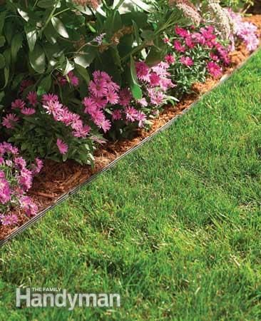 The Best Garden Bed Edging Tips, from FamilyHandyman.com. Not only does it have some nice-looking suggestions, but it tells how each one benefits the garden. Good info if you're a gardening n00b like me.