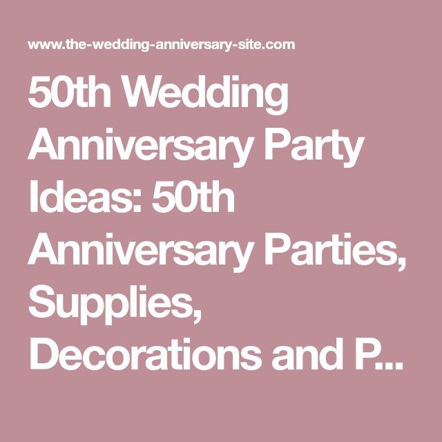 Best 25 50th wedding anniversary decorations ideas on
