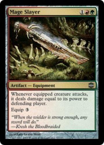 Mage Slayer x4 Magic the Gathering 4x Alara Reborn mtg card lot