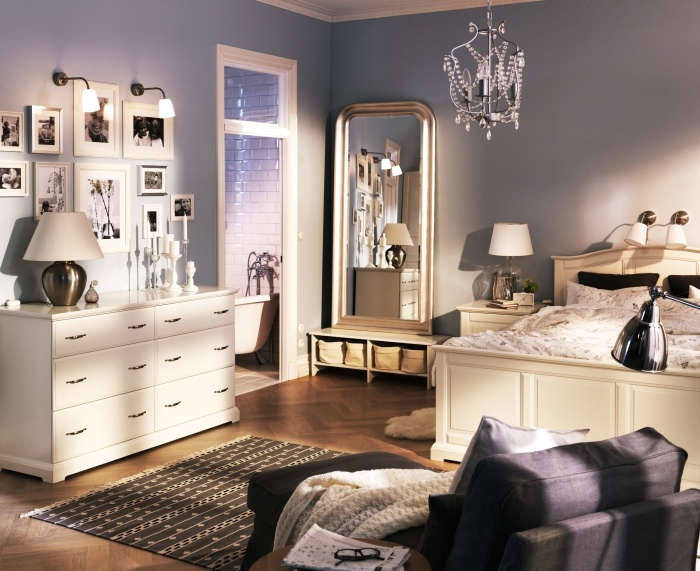 Elegant Ikea Bedroom Design And Decorating Ideas 2011 Workspace In Small Bedroom  Design And Decorating Ideas For Apartment 2011 By IKEA U2013 Home Designs And  Pictures Part 13