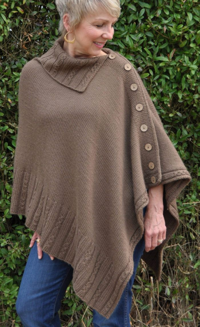 440 best shawl knitting patterns images on pinterest knitting pattern for miriam carole poncho this buttoned poncho with open collar is mostly stockinette stitch and is knit bottom up in a single rectangular bankloansurffo Gallery