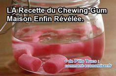 Comment fait-on du chewing-gum artisanal fait-maison ? Eh bien en fait c'est tout simple. Oui, la recette du chewing-gum fait maison est enfin révélée.