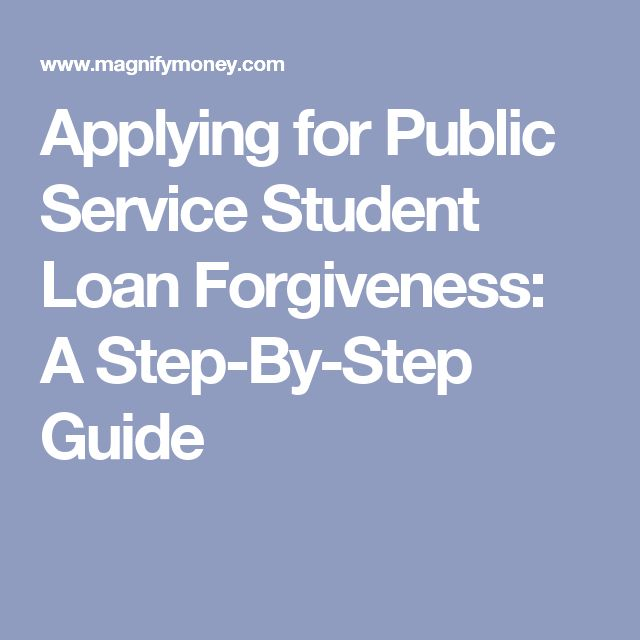 Applying for Public Service Student Loan Forgiveness: A Step-By-Step Guide
