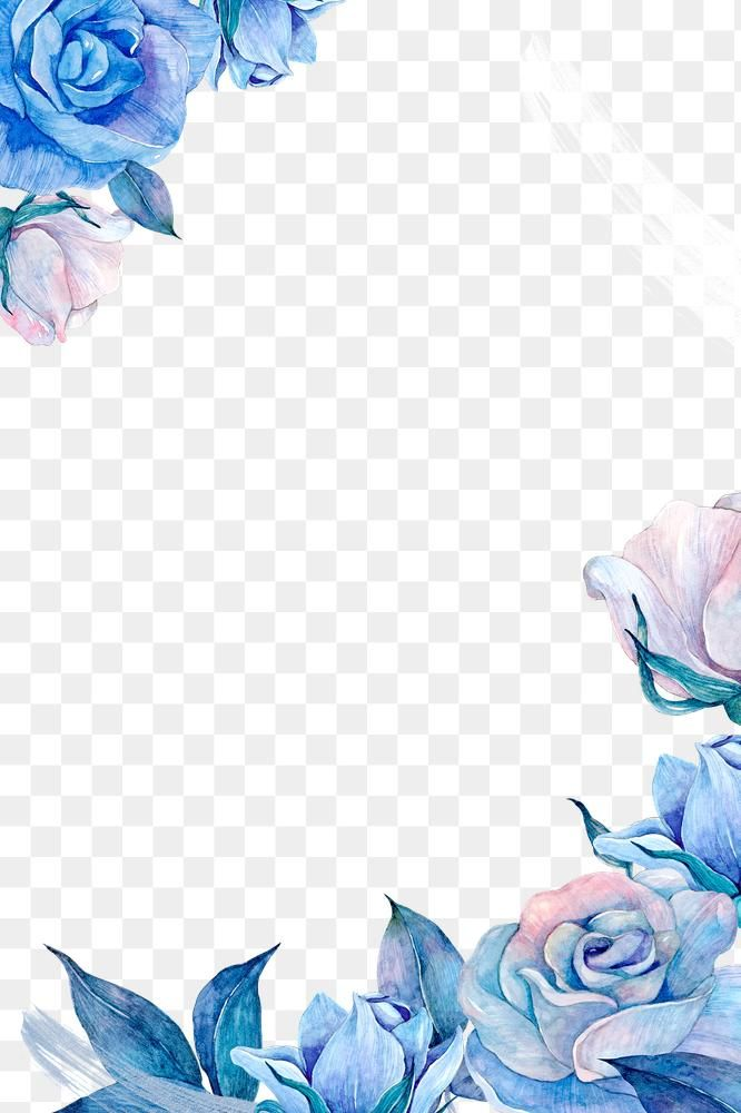 Watercolor Flower Frame Png Design Free Image By Rawpixel Com Adj Flower Frame Png Flower Frame Watercolor Flowers