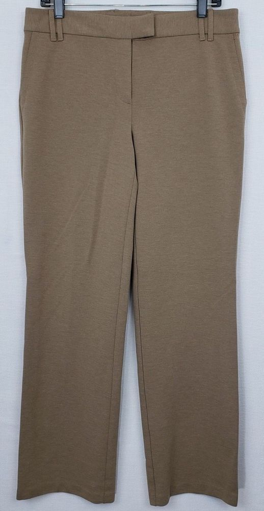 c97c8f3b91f J.Jill Trouser Womens Tan Stretch Pants Pockets Career Size 10  JJill   DressPants  Any