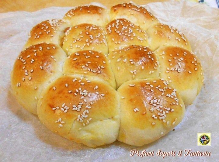 Pan brioche Bimby ricetta base senza burro e uova Blog Profumi Sapori & Fantasia