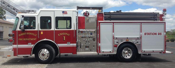 Sutphen : Custom Fire Apparatus : Shield Series Pumper