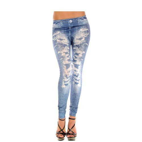 ISASSY New Sexy Womens Leggings /Jeans Graffiti Jeggings Stretchy Skinny Pants Printed Pattern Legwear Tights, 27 Designs Ladies Fashions Demin Look, ONE Size Super Slim Jeggings - http://www.css-tips.com/product/isassy-new-sexy-womens-leggings-jeans-graffiti-jeggings-stretchy-skinny-pants-printed-pattern-legwear-tights-27-designs-ladies-fashions-demin-look-one-size-super-slim-jeggings/