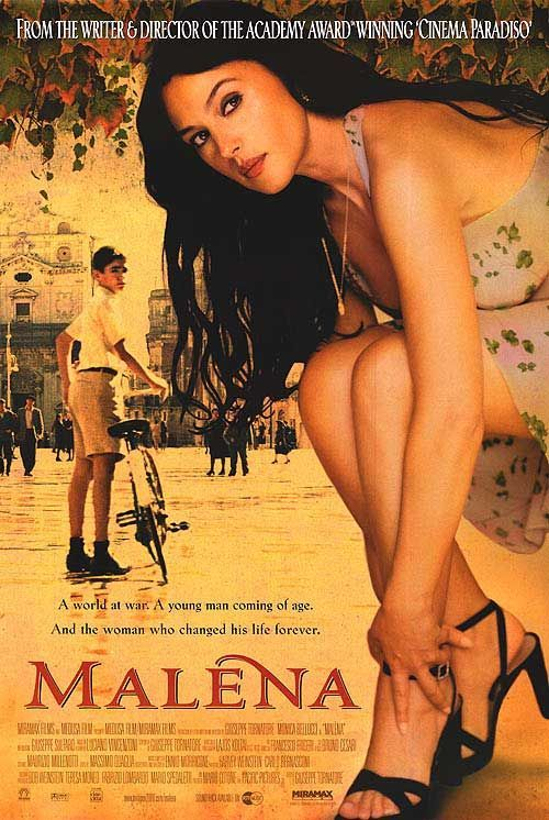Stunning Italian cinema and other foreign films. Films that teach us something ..Malena