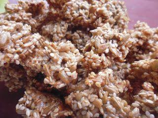 Zdravá a krásná...: Semínkové sušenky - včetně kcal/kj