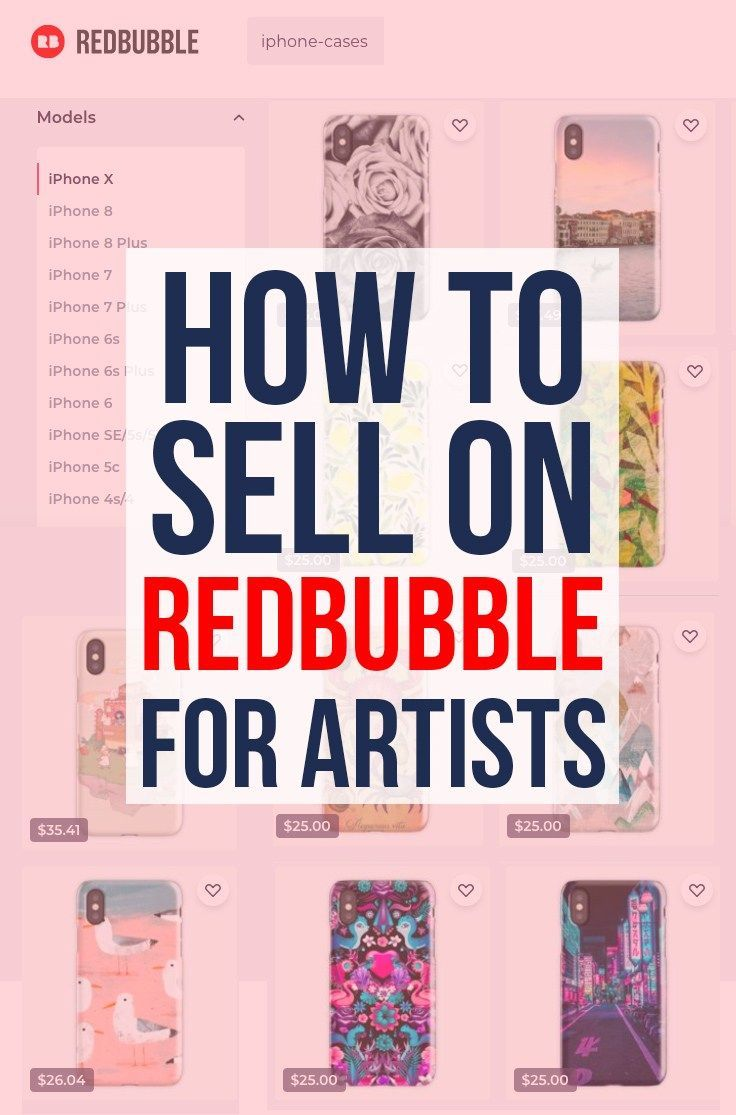 How To Sell On Redbubble Step By Step Guide To How To Be Successful On Redbubble Learn How To Sell Your Art On Redbubb Things To Sell Redbubble Sell Your Art