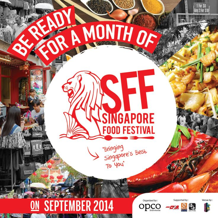 H5 (Howdy Hello Hola Hey Ho!) is bringing Singapore's best food this September! Get your belly ready for Singapore Food Festival #H5SFF