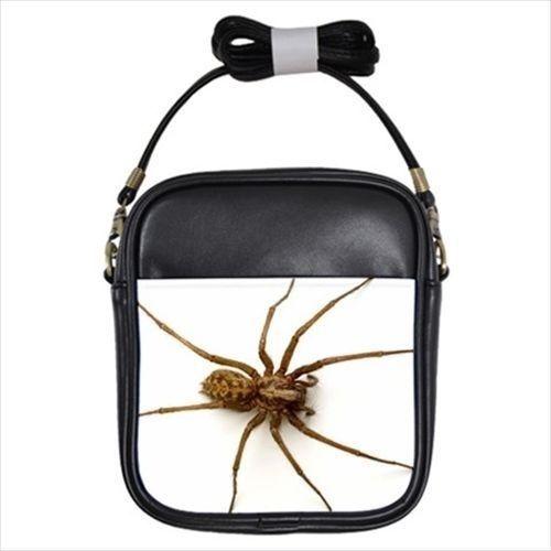 Giant House Spider Leather Sling Bag (Crossbody Shoulder) & Women's Handbag