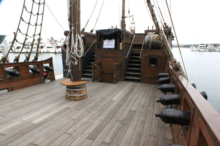 18th century ship deck - Google Search