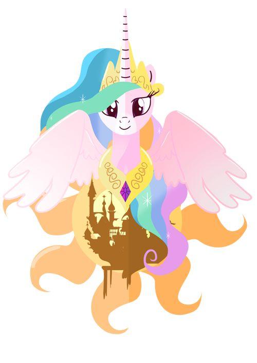 Princess of the Day: Celestia by Ilona-the-Sinister.deviantart.com on @deviantART