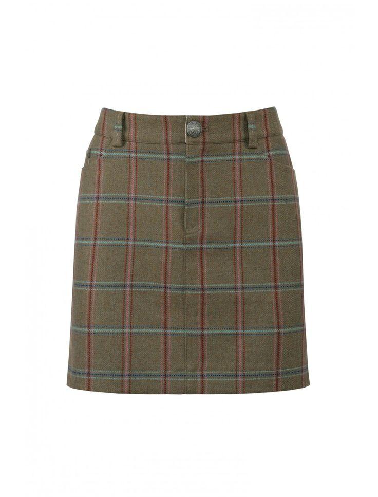 Clover Tweed Mini Skirt  #QHCongress13 #DubarryOfIreland @Horse&Rider