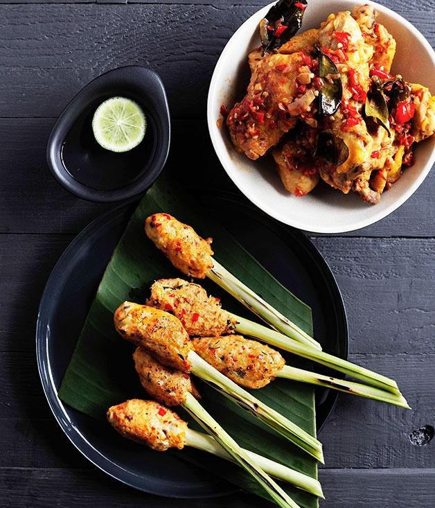Padang chilli fried chicken (Ayam goreng balado)