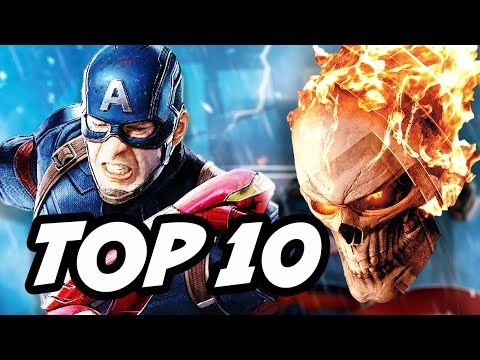 Agents Of SHIELD Season 4 Episode 1 Ghost Rider TOP 10 Marvel Easter Eggs…