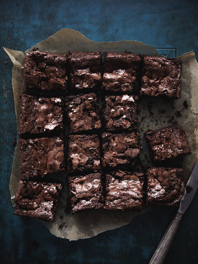 Nigel Slater's brownies - it's not that I *need* another brownie recipe; it's just so hard to commit to one.