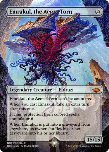 Emrakul, the Aeons Torn | MtG proxies | Pinterest | Magic ...