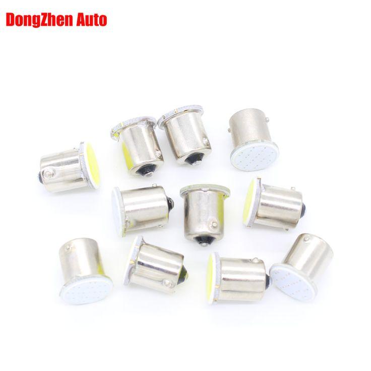 Dongzhen LED De Voiture 24 V 1156 BA15S 1 COB H18 Source Auto Clignotants Inverse Lumière Intérieur Emballage Lampe Au Xénon Voiture Style 10 pcs