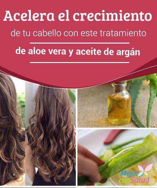 Acelera el crecimiento de tu #Cabello con este tratamiento de #AloeVera y aceite de argán   El tratamiento de aloe vera y aceite de argán es un excelente complemento para acelerar el #Crecimiento saludable de tu cabello. ¡No dejes de probarlo! #Belleza