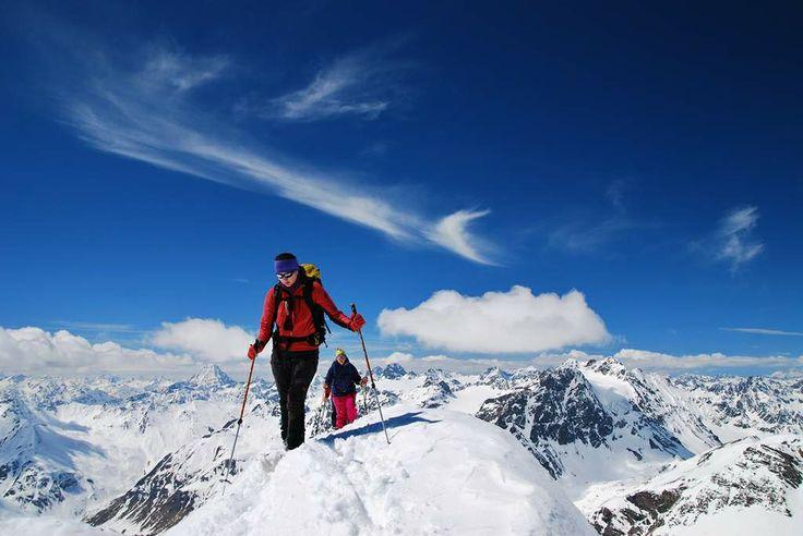 Piz Tasna 3.179 m, Alps, Austria