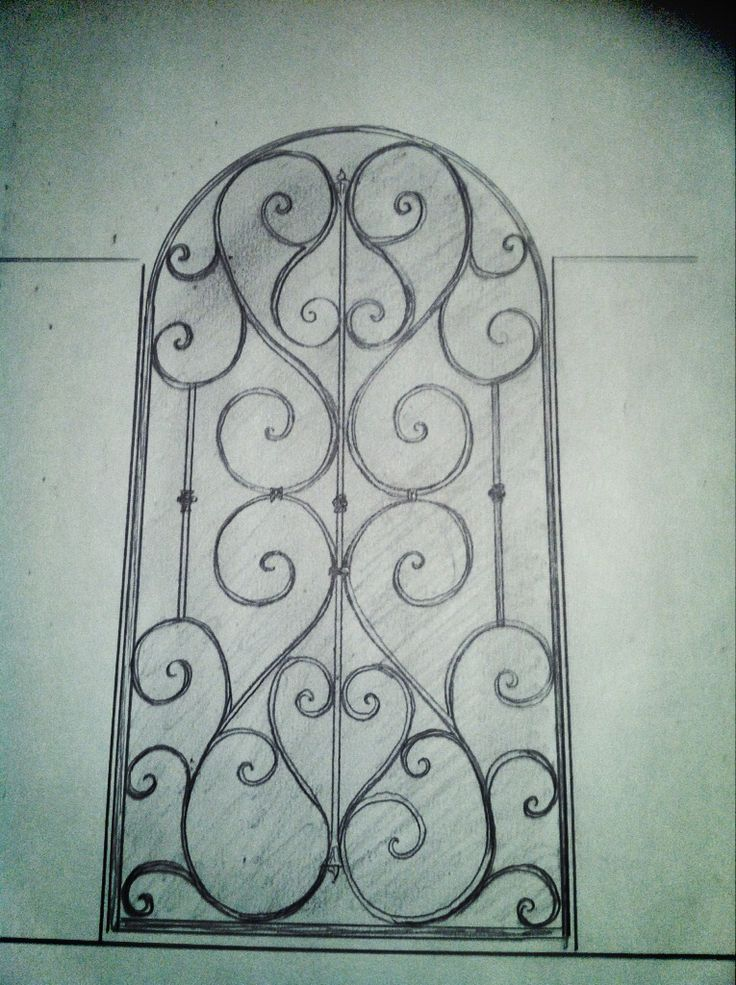 Draft for iron gate