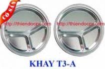 KHAY INOX 3 NGĂN A/ KHAY CƠM PHẦN 3 NGĂN http://bepchuyennghiep.com/khay-com-inox-2-1-790984.html