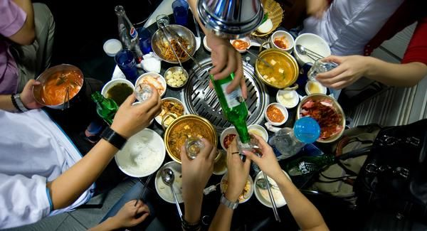 """This city's all Seoul  [Drink up]  Food and drink bring people together around the world, and Seoul is no different. Korean barbeque (pictured), where the meat is prepared on a tableside grill, is known as gogigui, which means """"grilling meat"""", the most popular being bulgogi, or thin slices of beef. Available throughout the city, gogigui makes for a superb compliment to Korea's drinking culture, which consists mostly of distilled rice liquors (including soju, the most popular Korean alcohol)…"""