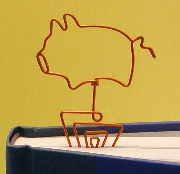 Piggy Bookmark