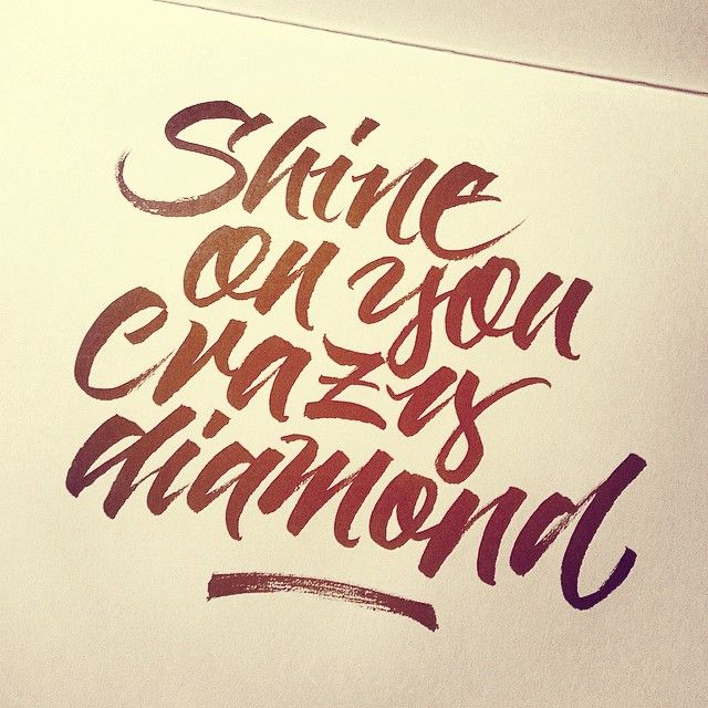 Instagram: 'Crazy diamond' by @thibellotti