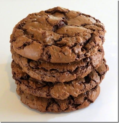 Gluten Free Chocolate Fudge Cookies at Baking and Boys!