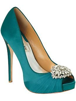Badgley Mischka Pettal | Piperlime.  OK, I might have to settle for these ;)