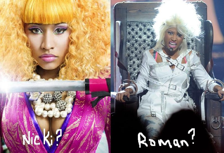 """Nicki Minaj    Imagery: Roman Zolanski, Nicki's alter personality is self proclaimed to have been """"born out of rage"""". Roman Zolanski is grossly similar to Roman Polanski, Elite director of the occult movie """"Rosemary's Baby"""" (human hybridization agenda (sex with the devil himself) / satanic rituals) and known pedophile. Nicki is obviously a split personality and puppet. Zolanski talks in creepy low guttural voices."""