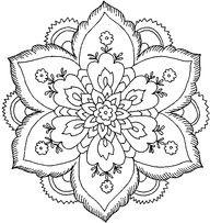 9 Best Mandalas Para Colorear Images On Pinterest Coloring Books