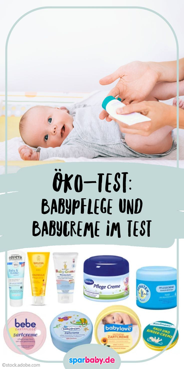Baby care and baby cream in the test – Ratgeber Baby & Kind