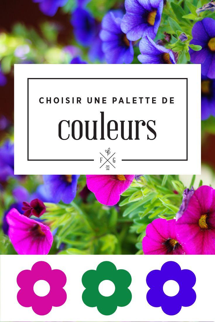Comment choisir ses fleurs annuelles selon une palette de couleurs. La Ferme Grover, Laval