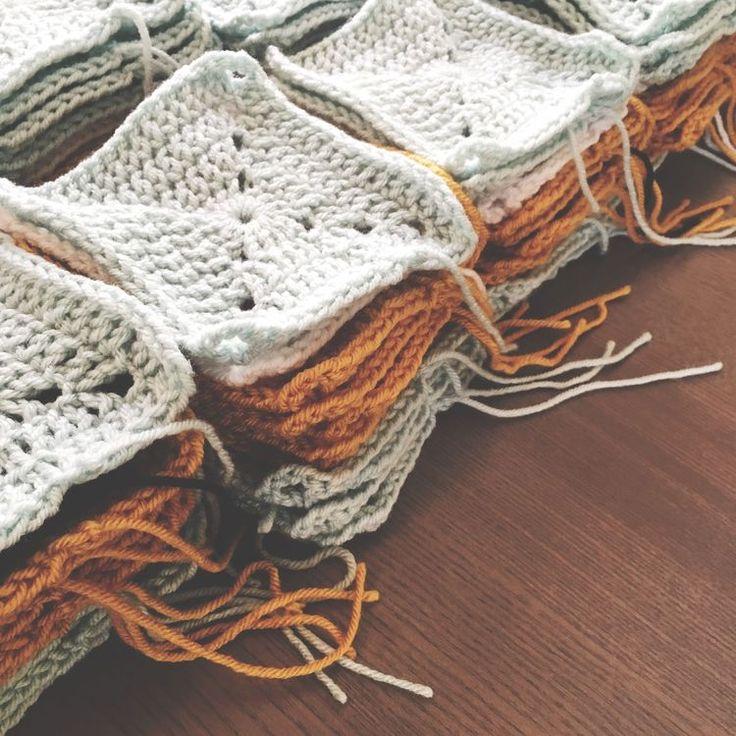 Easy Free Granny Square Crochet Patterns