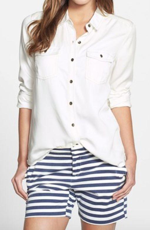 long sleeve chambray shirt http://rstyle.me/n/vywb6pdpe