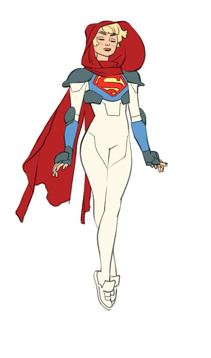 SuperGirl (?) by Cory Walker sad times | S-A-D week two