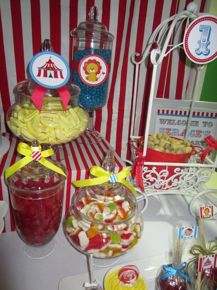 17 best images about circus party ideas on pinterest circus baby showers parties and sip and see - Carnival themed baby shower ideas ...