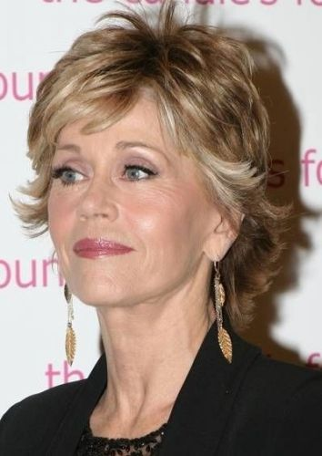 Jane Fonda - Mature Hairstyle  FOR ALL HAIRSTYLE IDEAS, ADVICE AND INSPIRATION VISIT US WWW.UKHAIRDRESSERS.COM