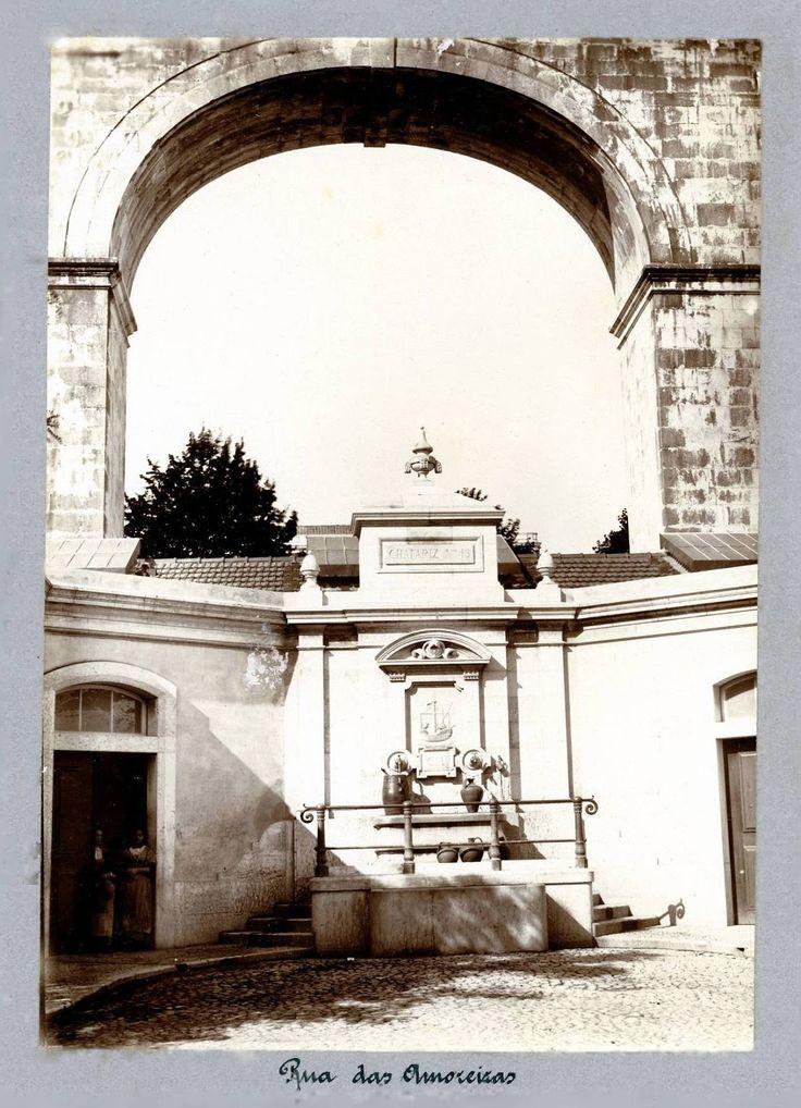 Chafariz das Amoreira, 1875